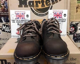Dr Martens Made in England Gaucho Crazy Horse 3 Eyelet 1 Ski Hook Shoe Size 2