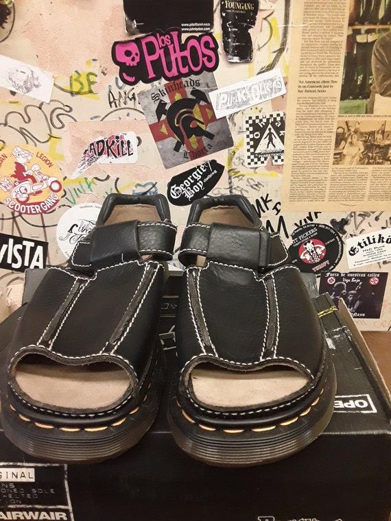 DR Martens Made in England 9064 BLACK sandal SIZE