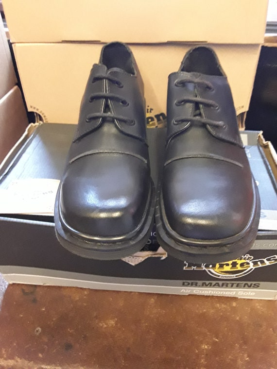 crazy price genuine shoes top fashion DR Martens 9264 Made in England BLACK 3 eye shoe size 6