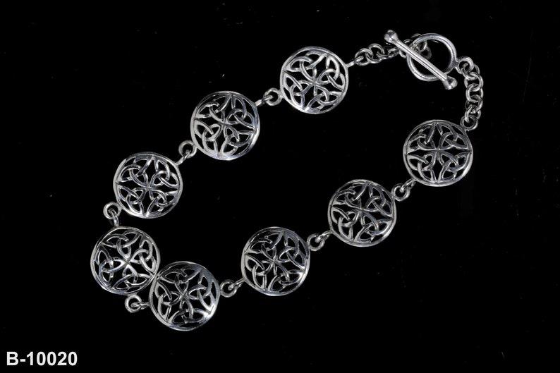 Schottischer Silber 925 Schmuck Schottland Neu Keltische Trinity Ohrstecker