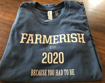 Farmerish 2020 organic cotton t-shirt (unisex)