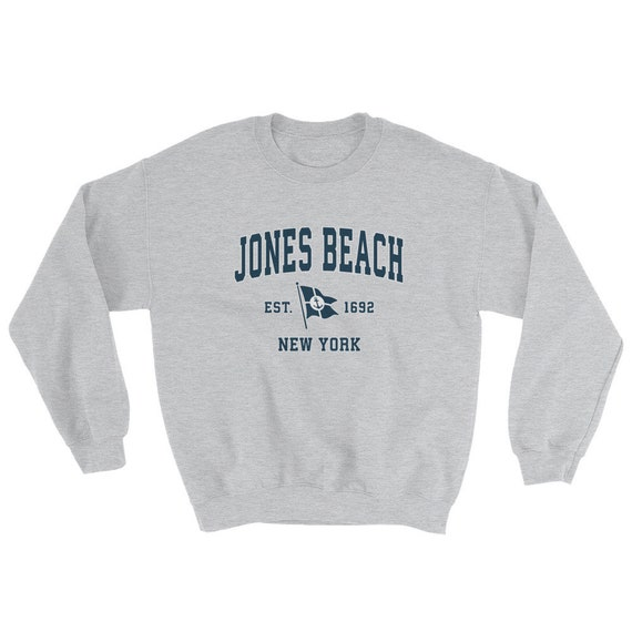 Vintage Nautical Boating Sailing Design Westhampton Beach New York NY Sweatshirt