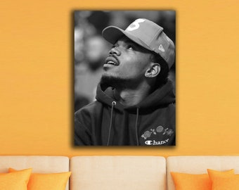 Chance The Rapper Canvas Poster