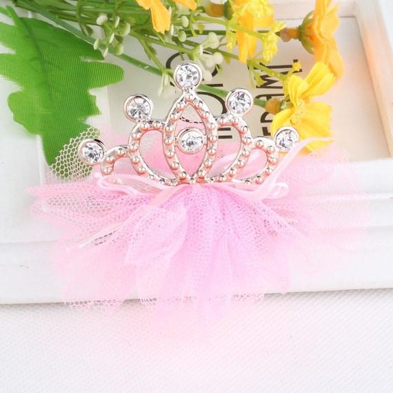 Baby Girl Rhinestone Crown Headbands Toddler Princess Tiara Set Hair Accessories
