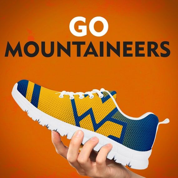 personnalis chaussures formateurs cadeau baskets alpinistes occidentale Virginie ZqnxASUP