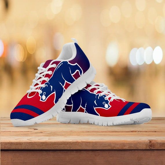 Collector Shoes Mens Gift Gift Cubs Sneakers Running Gift Custom Kids Chicago Sizes Trainers Womens Baseball EwOS1Rq