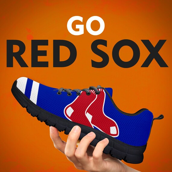 Custom Womens Black Sneakers Sole Running Red Mens Sizes Shoes Collector Sox Trainers Boston Gift Kids Fans Baseball q0wEIzq