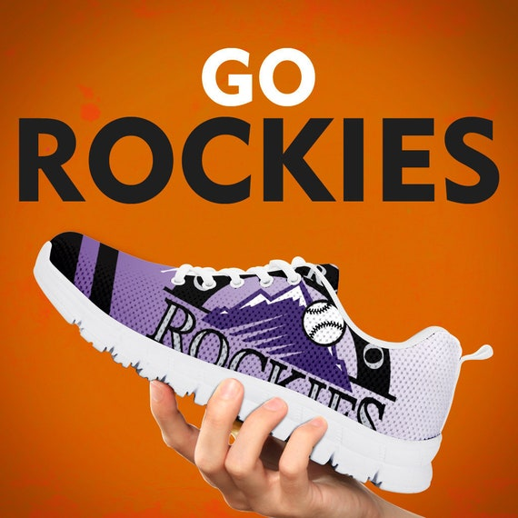 Custom Mens Sizes Shoes Womens Sneakers White Rockies Gift Gift Baseball Kids Trainers Colorado Black Collector Running Gift EwPq8fxfY