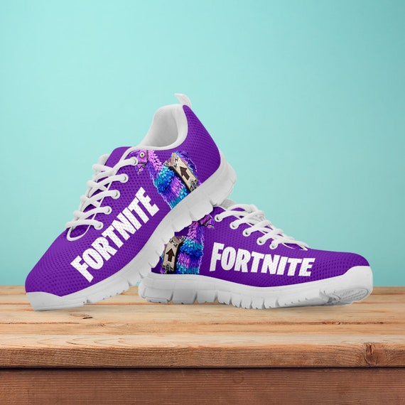 Fortnite White Kids Black Gift Battle Royale Sneakers Womens Trainers Running Shoes Pianta Athletic Llama Fortnite Mens Size ZarOZwq