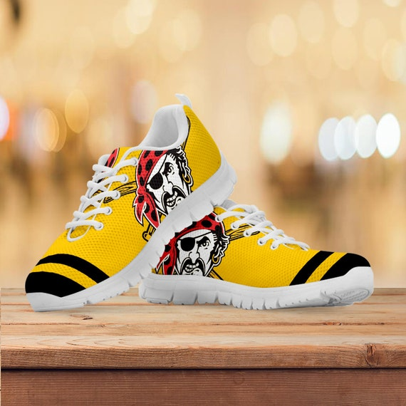 Trainers Gift Sneakers Pittsburgh Kids Running Gift Collector Gift Sizes Shoes Womens Pirates Custom Baseball Mens Z7qqxtrIn