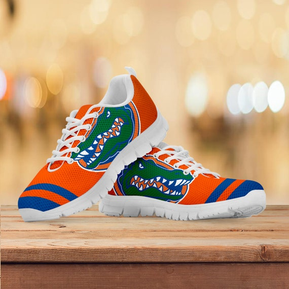 Football Shoes Gators Sneakers Collector Custom Mens Gift Trainers Gift Sizes Running Florida Gift Kids Womens wAqxPSPC