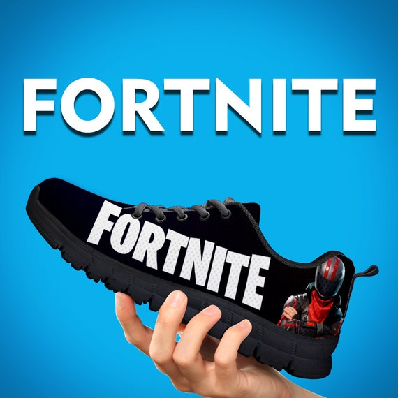 Size Gift Black Kids Custom White Sneakers Shoes Trainers Battle Running Royale Womens Kids Athletic Fortnite Custom Mens Gift UwCxPZTnq