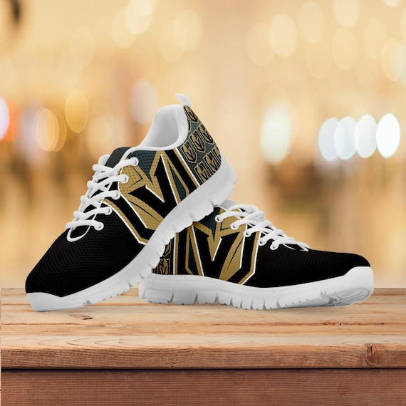 Womens Kids Gift Hockey Trainers Mens White Shoes Running Collector Vegas Sneakers Black Sizes Gift Custom Golden Knights zaqxEPT
