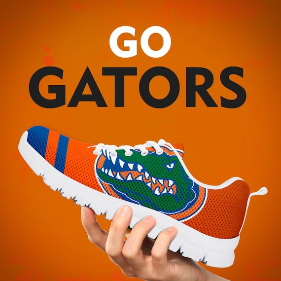 Florida Gift Sneakers Mens Running Gift Collector Gift Trainers Womens Kids Shoes Custom Sizes Football Gators fqfnx4gH