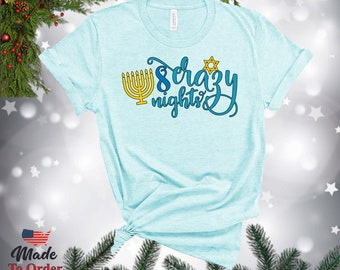 Hannukah Dreidel TShirts, V-Necks, Sweatshirts, Sweaters,  Gerber Onesies & more!