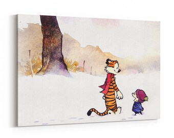 Calvin and hobbes wall decal Etsy