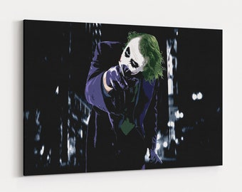 Joker Painting Etsy