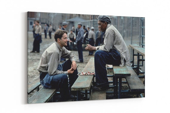 The Shawshank Redemption Stretched Canvas Wall Art ~ More Size