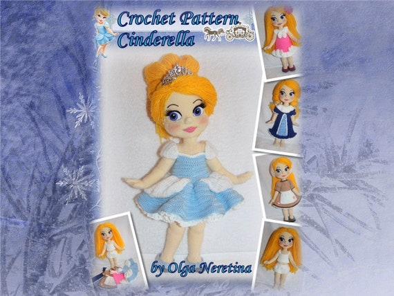 Cinderella doll amigurumi pattern - Amigurumipatterns.net | 428x570