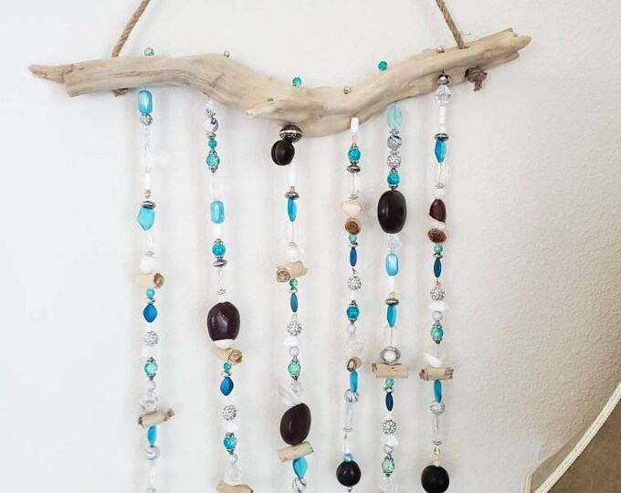 Sun Catcher with Sea Beans