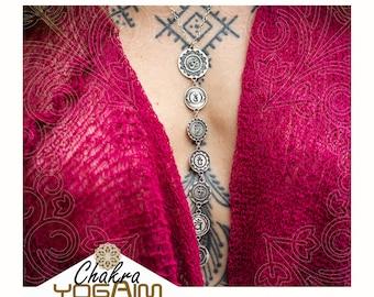 Chakra bija mantra Pendant, Chakra Sound. yoga pendant.jewelry that makes a difference.
