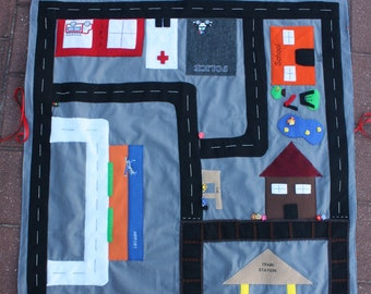 Travel Play Blanket
