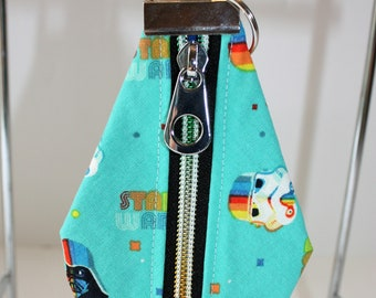 Medium Nutsac key fob, coin purse, small wallet