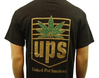 Weed T Shirts Marijuana Cannabis Shirt Unisex Smoking Leaf Shirt Gift Tee
