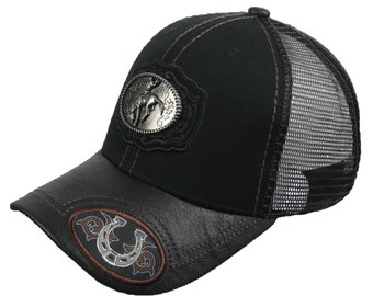0945d7784db Baseball Cap Rodeo Snapback Cowboy Mesh Trucker Fashion Casual Dad Hat  Hiking Hip Hop Caps Hipster Hats