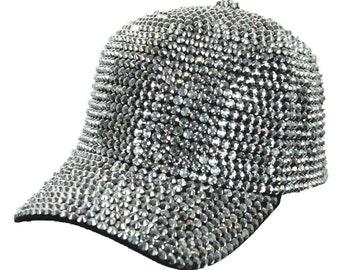 25be4fd23 Rhinestone hat | Etsy