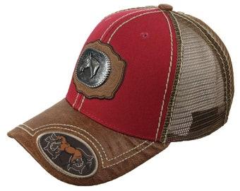 60929e34eca Baseball Cap Horse Head Snapback Animal Farm Mesh Trucker Fashion Casual  Dad Hat Hiking Hip Hop Caps Hipster Hats