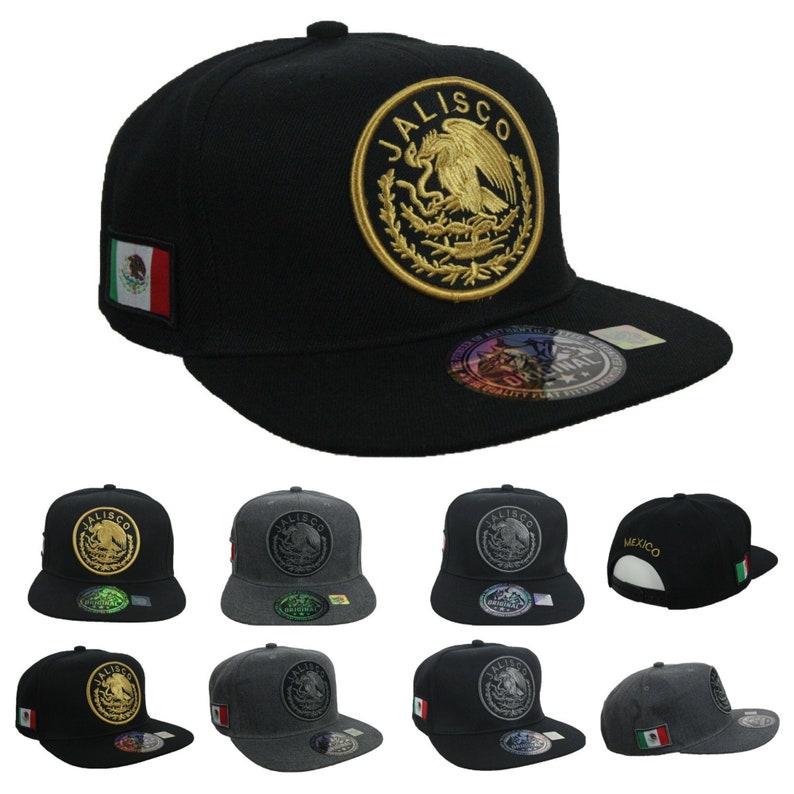 a3759132 Jalisco Baseball Cap Mexico Hat Fashion Caps Casual Hats Mexican Snapback  Hip Hop Hipster Flat Bill