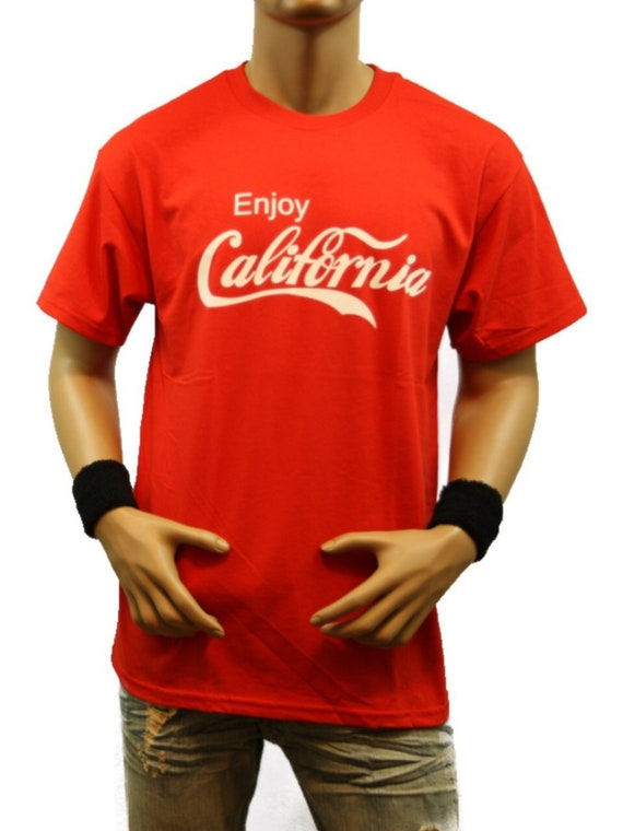 Funny Graphic T-Shirt California All-Star Fashion Casual Printed Hip Hop Hipster Humor Urban Tee