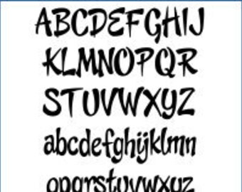 Alphabet Patterns - Cheeky Monkey, Value Pak - Printable PDF File, Digital Download