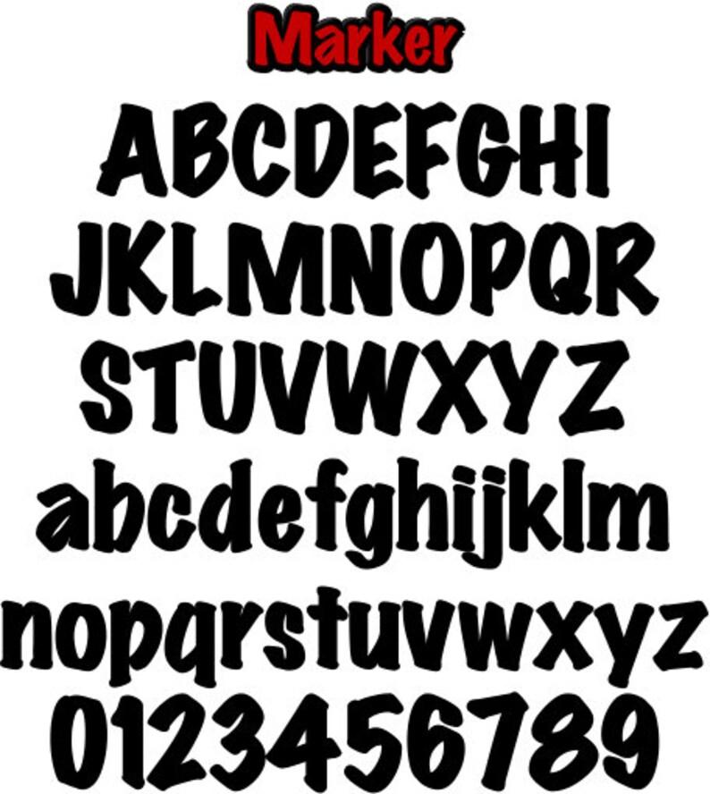 Printable Alphabet Patterns Value Pak Marker PDF File Digital Download