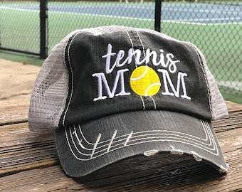c7ccc9b6 Tennis Trucker Hat - Tennis Mom