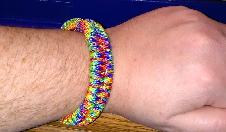 Braid Paracord Bracelet - Alert Bracelet