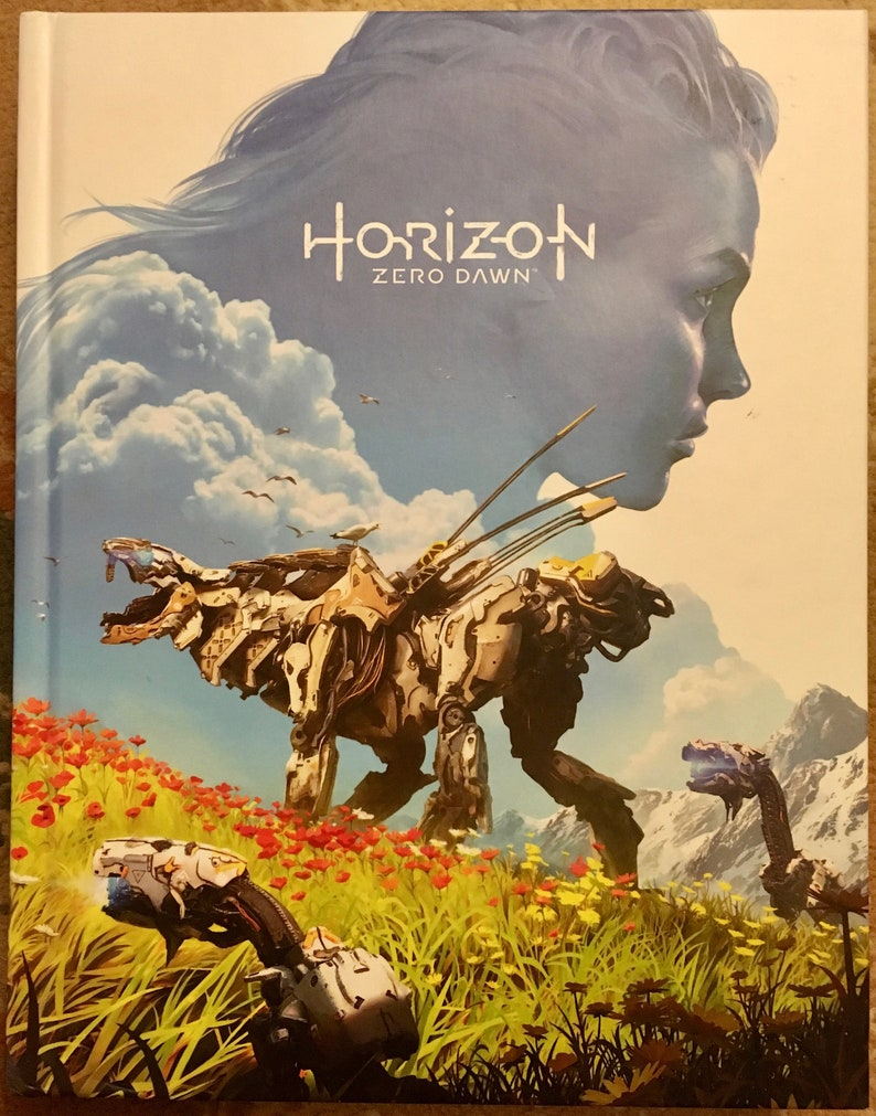 Horizon Zero Dawn Karte.Horizon Zero Dawn Collector S Edition Strategy Guide Published By Future Press 2017 Hardcover Like New