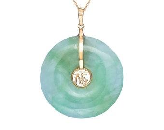 Jade Fortune Disc (Large)