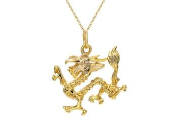 Dragon in 14k Gold