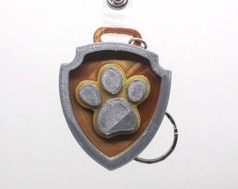 Paw Patrol Mighty Pups badge