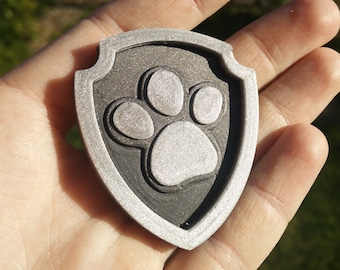 Paw Patrol hat badge - perfect for Paw Patrol costume - Paw Patrol inspired