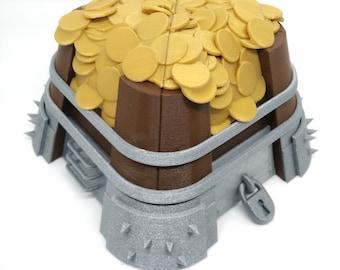 Clash of Clans gold storage piggybank - gamer gift
