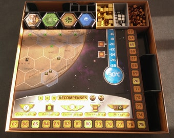 Terraforming Mars boardgame 3D printed insert