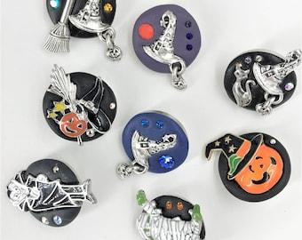 Halloween 12mm miniPetite Jazz Snaps