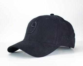 a6de0d64abe Triple black wow suede arabic cap
