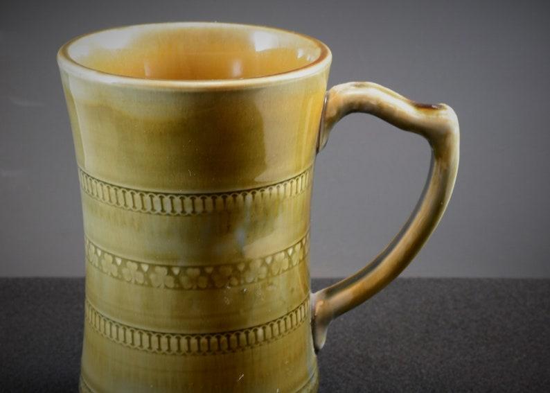 Large Wade Tankard  Mug with Shamrocks