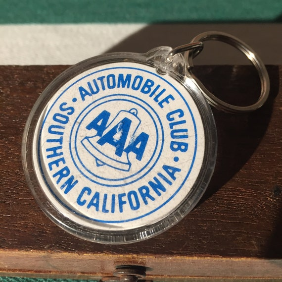 Aaa Auto Club Near Me >> Vintage Aaa Automobile Club Of Southern California Keychain