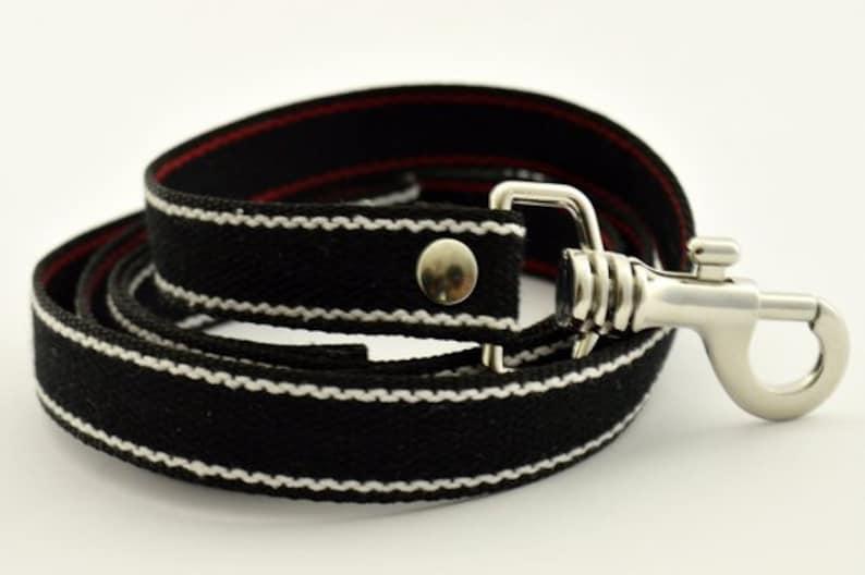 Dog guinzaglio / resistant / washable / leash with handle / image 0