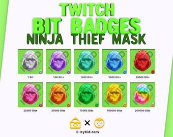 Twitch Bit Badges - Ninja Thief Mask
